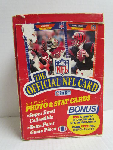 1989 Pro Set Football Hobby Box