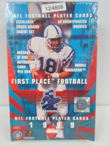 1999 Collector's Edge First Place Football Hobby Box