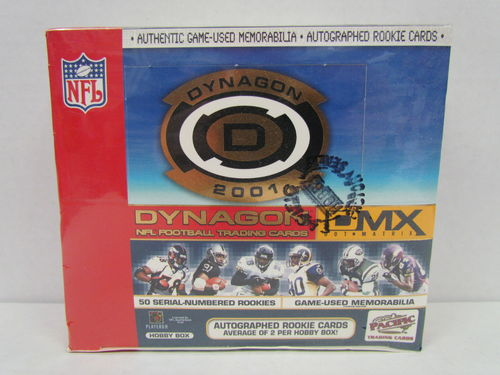 2001 Pacific Dynagon Football Hobby Box