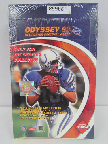 1999 Collector's Edge Odyssey Football Hobby Box