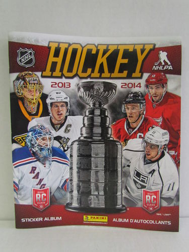 2013/14 Panini Hockey Stickers Album