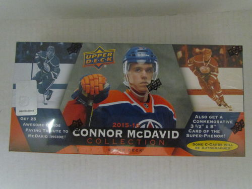 2015/16 Upper Deck Connor McDavid Collection Set