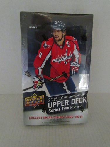 2015/16 Upper Deck Series 2 Hockey Hobby Box