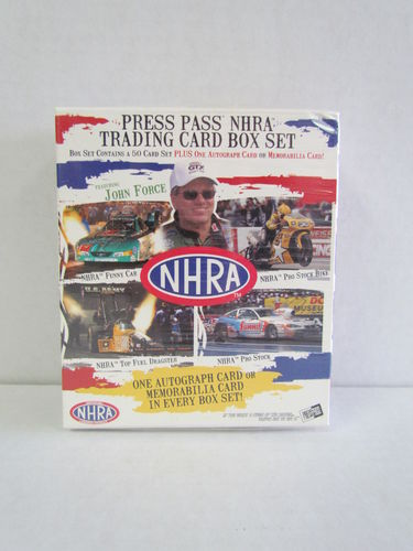 2005 Press Pass NHRA Box Set