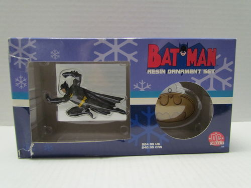 DC Direct BATMAN Resin Ornament Set
