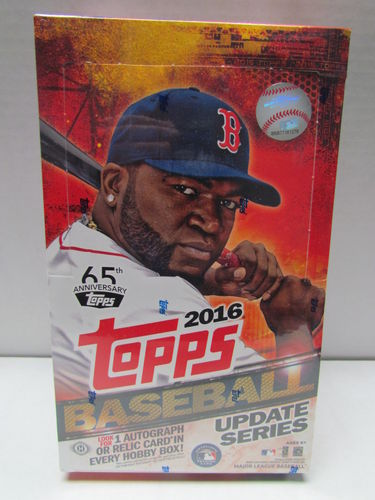 2016 Topps Update Baseball Hobby Box