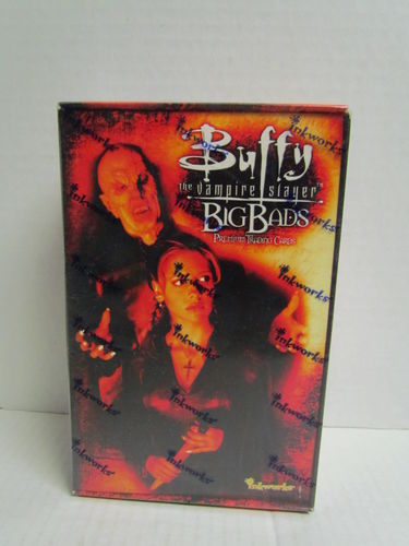 Inkworks BUFFY THE VAMPIRE SLAYER BIG BADS Hobby Box