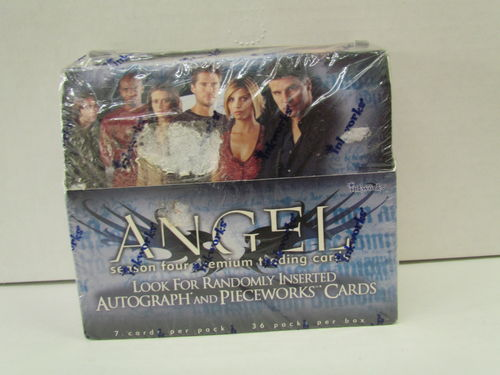 Inkworks ANGEL SEASON 4 FOUR Trading Cards Box