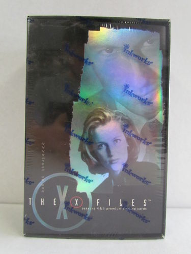 Inkworks The X-Files Seasons 4 & 5 Trading Card Box