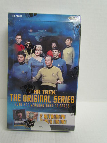 Rittenhouse Star Trek Original Series 40th Anniversary Series 1 Hobby Box