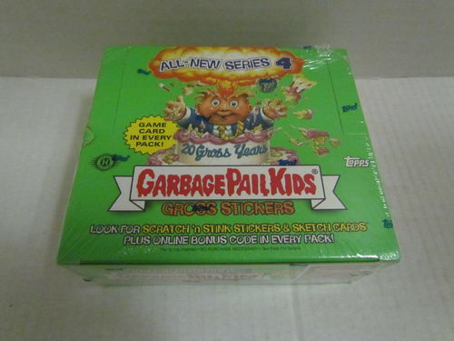 Topps Garbage Pail Kids  All-New Series 4 Hobby Box