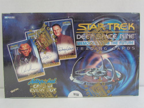 SkyBox Star Trek Deep Space Nine Memories from the Future Box