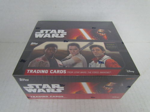 Topps Star Wars The Force Awakens Special Edition Hobby Box