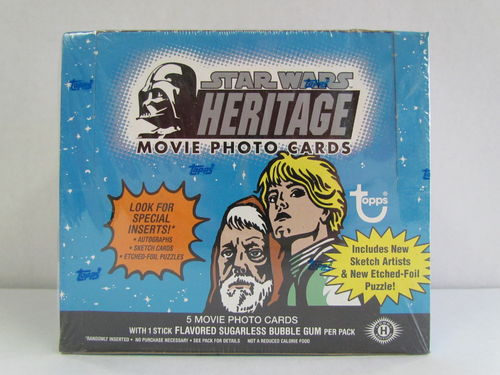 Topps Star Wars Heritage Hobby Box