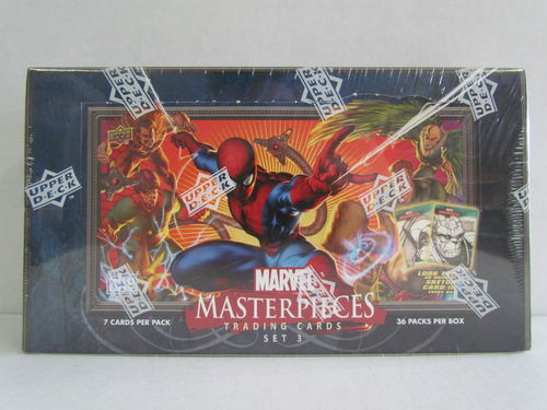 Upper Deck Marvel Masterpieces Series Three Hobby Box