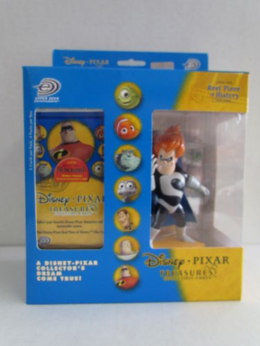Upper Deck Disney Pixar Treasures Collectible Cards and Syndrome Figure Box