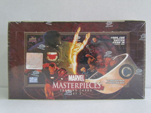 Upper Deck Marvel Masterpieces Series Two Hobby Box