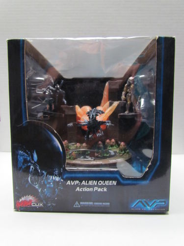 Horrorclix AVP Aliens vs Predator Alien Queen Action Pack