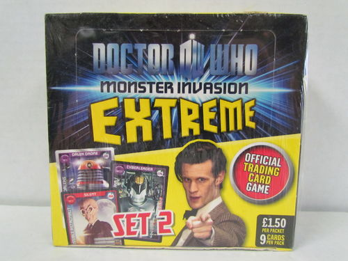 Doctor Who Monster Invasion Extreme Booster Box