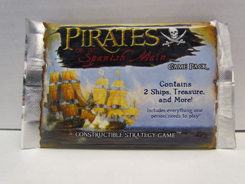 WizKids Pirates of the Spanish Main Pocketmodel Booster Pack