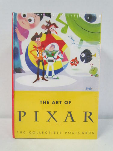 The Art of Pixar: 100 Collectible Postcards