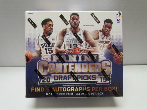 2015/16 Panini Contenders Draft Picks Basketball Hobby Box