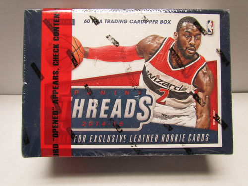 2014/15 Panini Threads Basketball Hobby Box