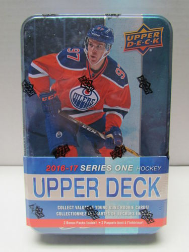 2016/17 Upper Deck Series 1 Hockey Tin