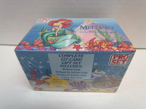 Pro Set Disney The Little Mermaid Factory Trading Cards Set