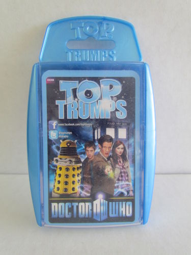 Doctor Who Top Trumps 5 (Blue) War Game