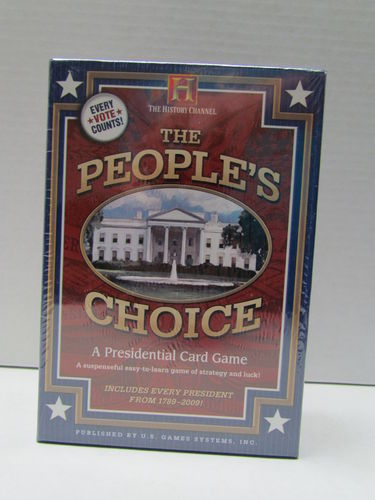 The People's Choice: A Presidential Card Game (History Channel)