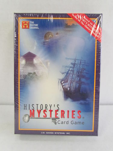 History's Mysteries Card Game (History Channel)