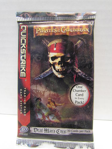 Pirates of the Caribbean Dead Man's Chest Quickstrike Booster Pack