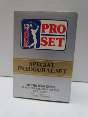 1990 Pro Set PGA Tour Special Inaugural Set (Not Sealed)