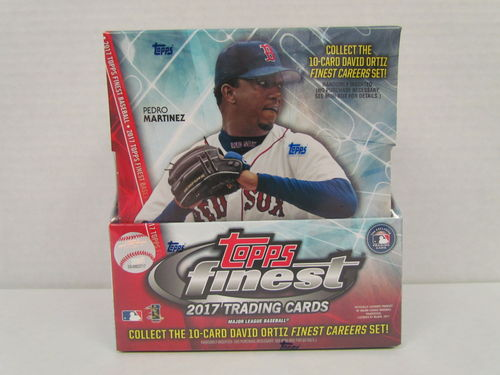 2017 Topps Finest Baseball Hobby Box