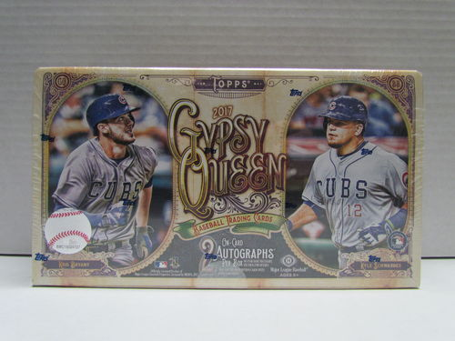 2017 Topps Gypsy Queen Baseball Hobby Box