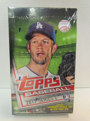 2017 Topps Series 2 Baseball Hobby Box (plus 1 silver pack)