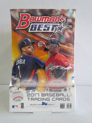 2017 Bowman's Best Baseball Hobby Box