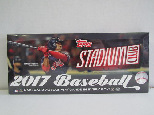 2017 Topps Stadium Club Baseball Hobby Box