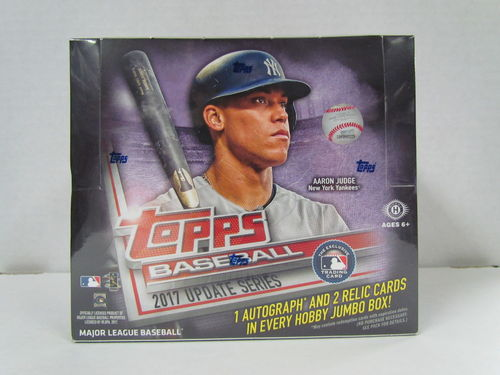 2017 Topps Update Baseball Jumbo Box