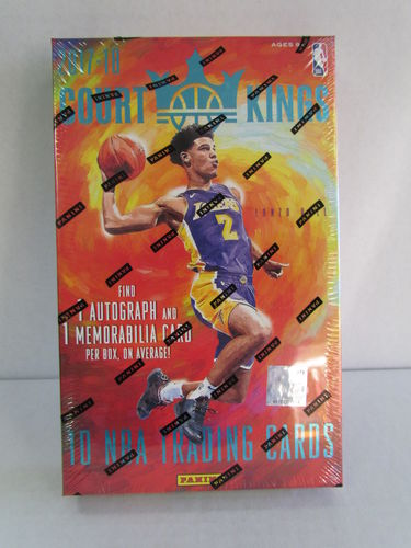 2017/18 Panini Court Kings Basketball Hobby Box