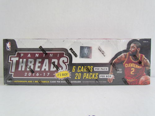 2016/17 Panini Threads Basketball Hobby Box