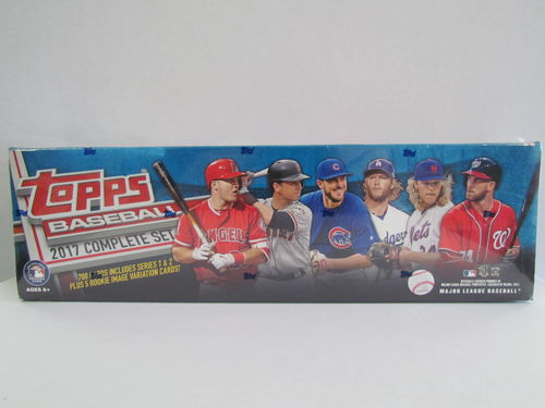 2017 Topps Baseball Retail Factory Set