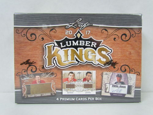 2017/18 Leaf Lumber Kings Hockey Hobby Box
