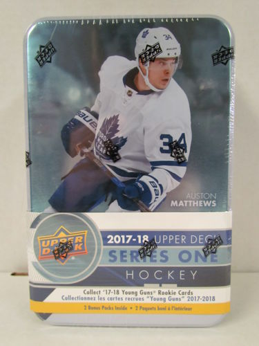 2017/18 Upper Deck Series 1 Hockey Tin