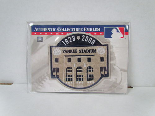2008 National Emblem 1923-2008 Yankee Stadium Patch