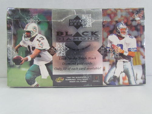 1997 Upper Deck Black Diamond Series 2 Football Hobby Box