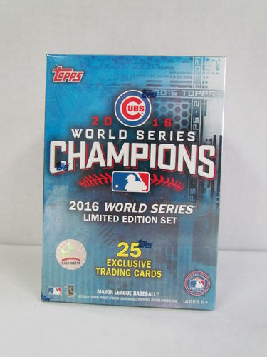 2016 Topps Chicago Cubs World Series Champions Set