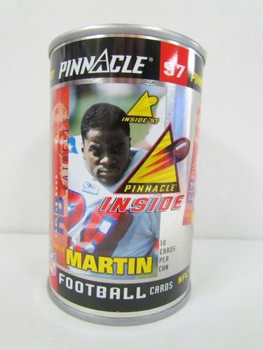 1997 Pinnacle Inside CURTIS MARTIN Football Can