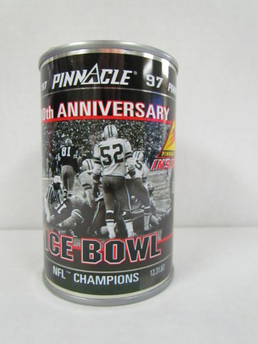 1997 Pinnacle Inside Football Can ICE BOWL